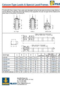 Pileco-Caisson-Type-Leads
